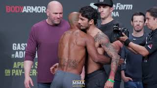 UFC 236 Ceremonial Weigh-In Highlights - MMA Fighting