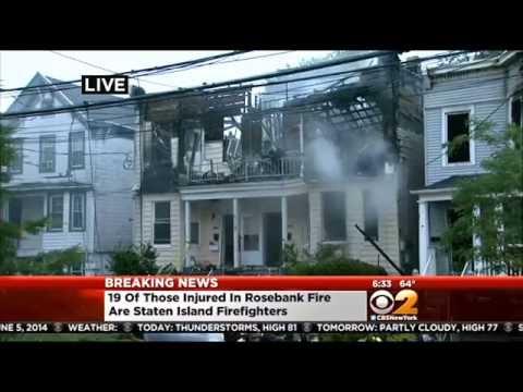 Dozens Injured In Overnight Staten Island Fire