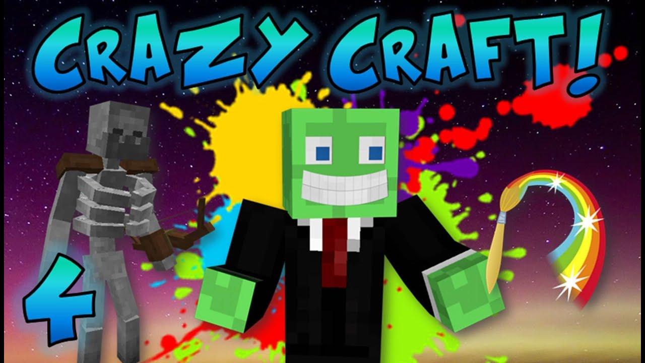 Minecraft crazy craft ep 4 the crazy cave youtube crazy craft mod