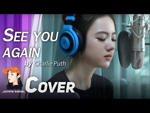 See You Again - Charlie Puth (Demo version) cover by Jannine Weigel (LIVE)