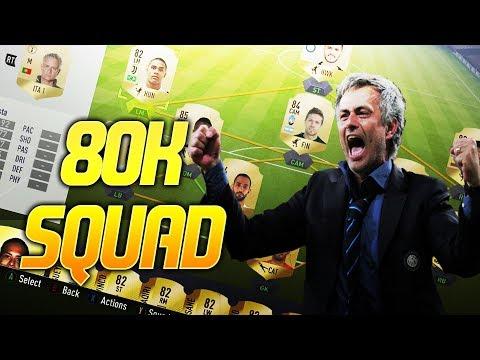 JOSE MOURINHO 80K OP TEAM - FIFA 18 ULTIMATE TEAM MOURINHO STYLE TACTICS AND TIPS