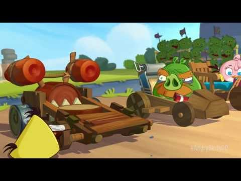 NEW! Angry Birds Go! Launch Trailer,