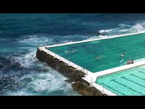 bondi beach icebergs ocean pool youtube