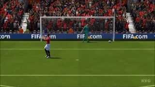 FIFA 14 Manchester United FC Vs. Atlético Madrid