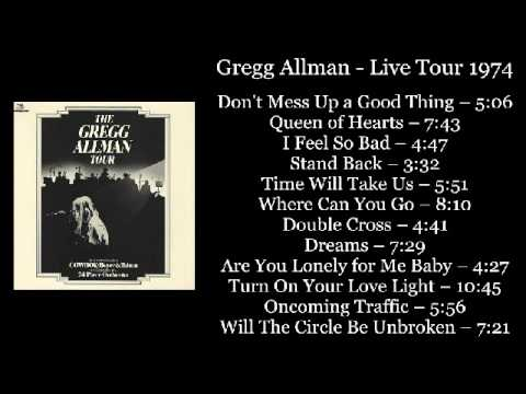 Gregg Allman - Live Tour 1974 (Full Album)