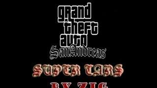 Обзор на Gta San Andreas SUPER CARS!