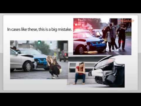 Massachusetts Car Accident Attorney Reveals Post Accident Mistake