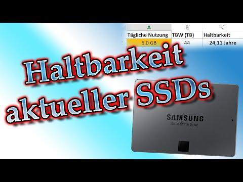 SSD Haltbarkeit - Wie lange halten günstige SSDs? Crucial MX100 / Samsung 850 EVO