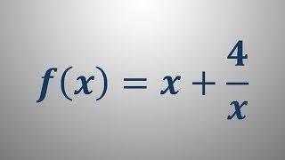 Risanje grafa funkcije – primer 1
