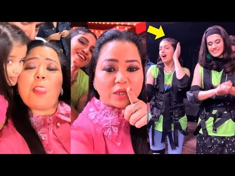 Bharti Singh's FUNNY Video With Taapsee & Bhumi While Shooting For Khatra Khatra Khatra TV Show