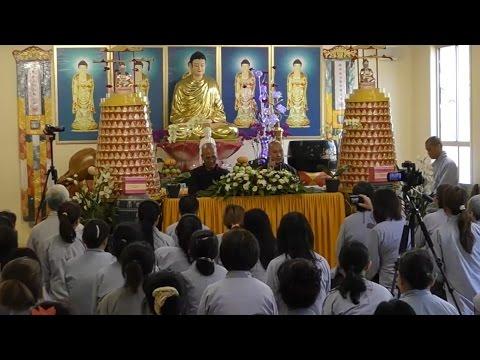 Vấn Đáp Phật Pháp 14.11.2015 - Thầy Thích Pháp Hòa
