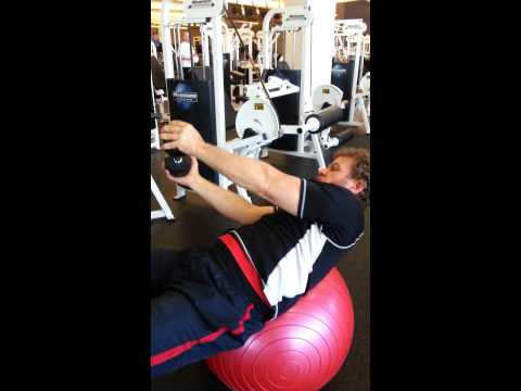 Dumbbell or Cable Core Exercise with Trainer Tom Wildt