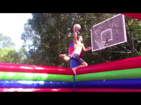 Jumping Castle Big Dunks Basketball Slam Ball
