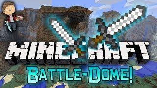 Minecraft: BATTLE-DOME w/Mitch & Friends Part 2 - Battle Phase!