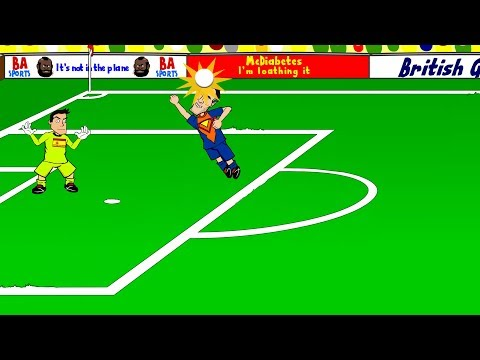 SPAIN v HOLLAND 1-5 by 442oons (World Cup 2014 13.6.14)