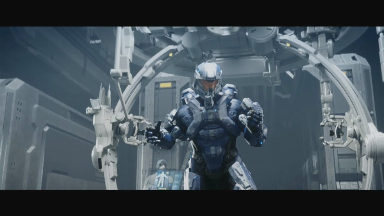 Halo 4 Infinity Spartan Ops Intro Video Youtube