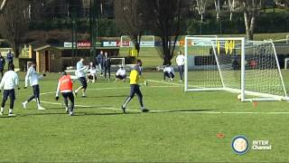 ALLENAMENTO INTER REAL AUDIO 17 02 2015