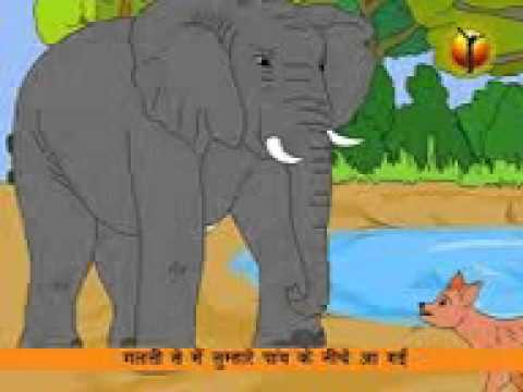 Hindi Panchatantra - Elephant Story.3gp -Xsw9YtpGOHE