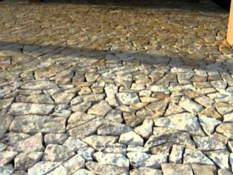 Pavimento pietra di trani