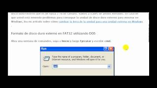 Cómo Formatear A Disco Duro Externo En FAT32 En Windows