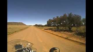 BMW GS 1200 Adventure offroading Clocolan to Marquard South Africa.AVI view on youtube.com tube online.