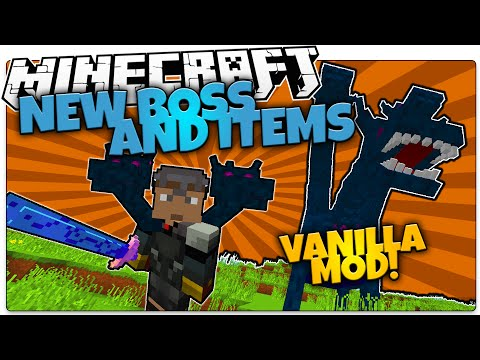 Minecraft   NEW HYDRA BOSS MOB!   Custom Weapons And Armor (Minecraft Vanilla Mod)