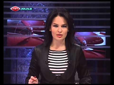 TRT AVAZ Azerbaycan dilinde xeber buraxılışı Tamilla Şirinovanın