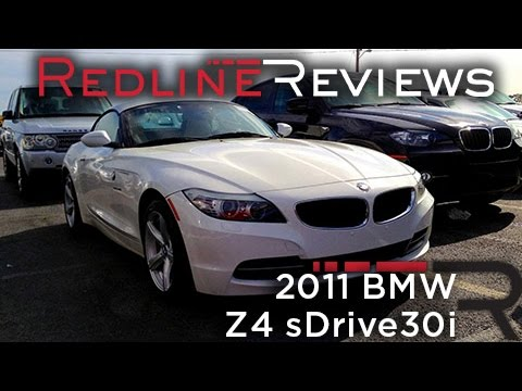 2011 BMW Z4 sDrive30i Review, Walkaround, Startup, Exhaust