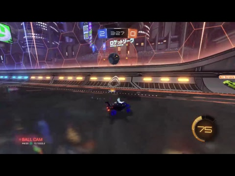 Ceiling shots and tips and tricks in Rocket League