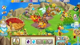 Como Hacer Al Dragon Fuego Oscuro En Dragon City