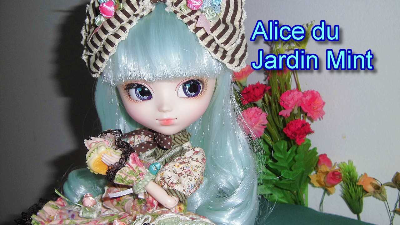 Pullip alice du jardin mint opening youtube for Alice du jardin pullip