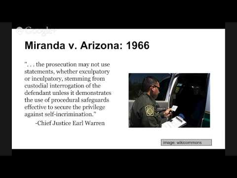 the case miranda vs arizona essay Thanks to countless movies and television shows, these words evoke one of the most well-known supreme court decisions of all time, miranda v arizona (1966) for about the first 100 years of the nation, the supreme court did not decide major constitutional cases involving police interrogations several reasons may.