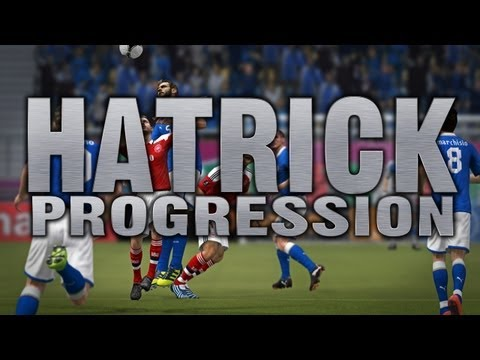 FIFA 12 - Hatrick Progression #10!