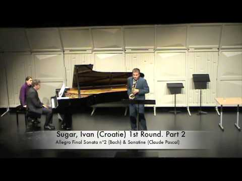 Sugar, Ivan (Croatie) 1st Round. Part 2