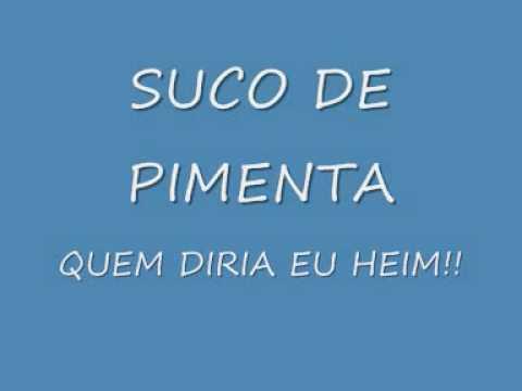 SUCO DE PIMENTA