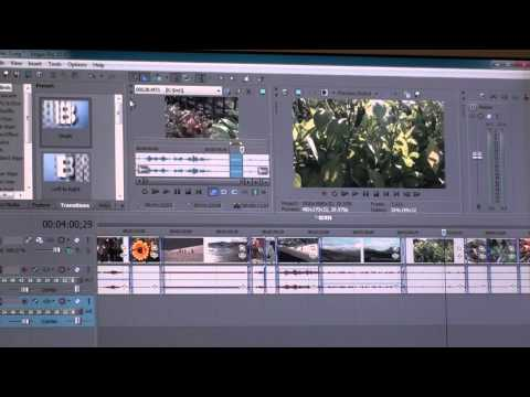 1920x1080i AVCHD editing using Sony Vegas Pro 10 64-bit