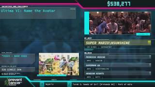 Super Mario Sunshine by AverageTrey in 3:06:29 - AGDQ 2018 - Part 83