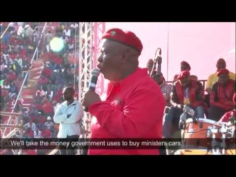 Malema's gift of the gab
