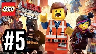 The LEGO Movie Videogame Walkthrough PART 5 TRAIN ESCAPE