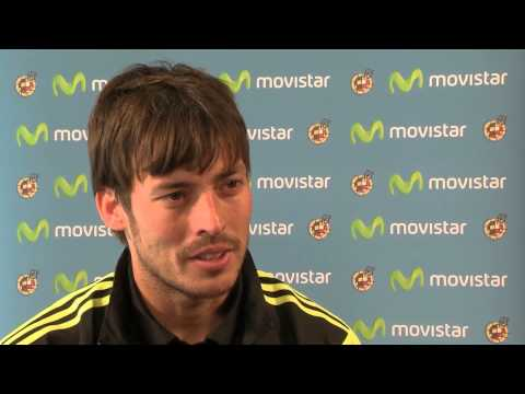 MOVISTAR - Entrevista exclusiva a David Silva 2014