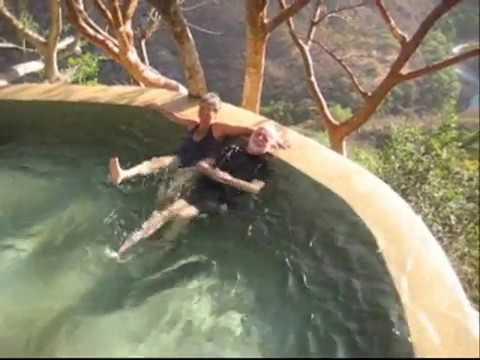 The baths and hot springs at Las Grutas Tolantongo, Hidalgo, Mexico