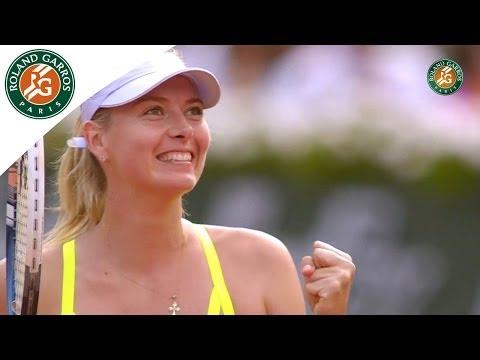 Roland Garros 2013 Semifinal: M. Sharapova d. V. Azarenka