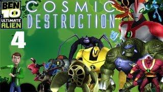 Let's Play Ben 10 Ultimate Alien: Cosmic Destruction #4