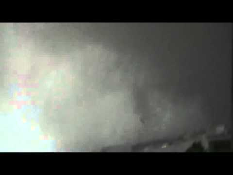 Raw: Dash Cam Shows Moore, Oklahoma Tornado
