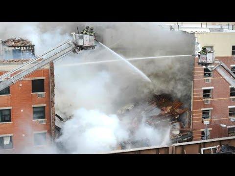 Harlem Building Explosion & Collapse Caused By Gas Leak