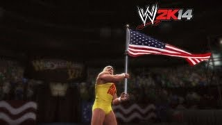 """WWE 2K14"" How-To: Hulk Hogan Vs. Sgt. Slaughter At"