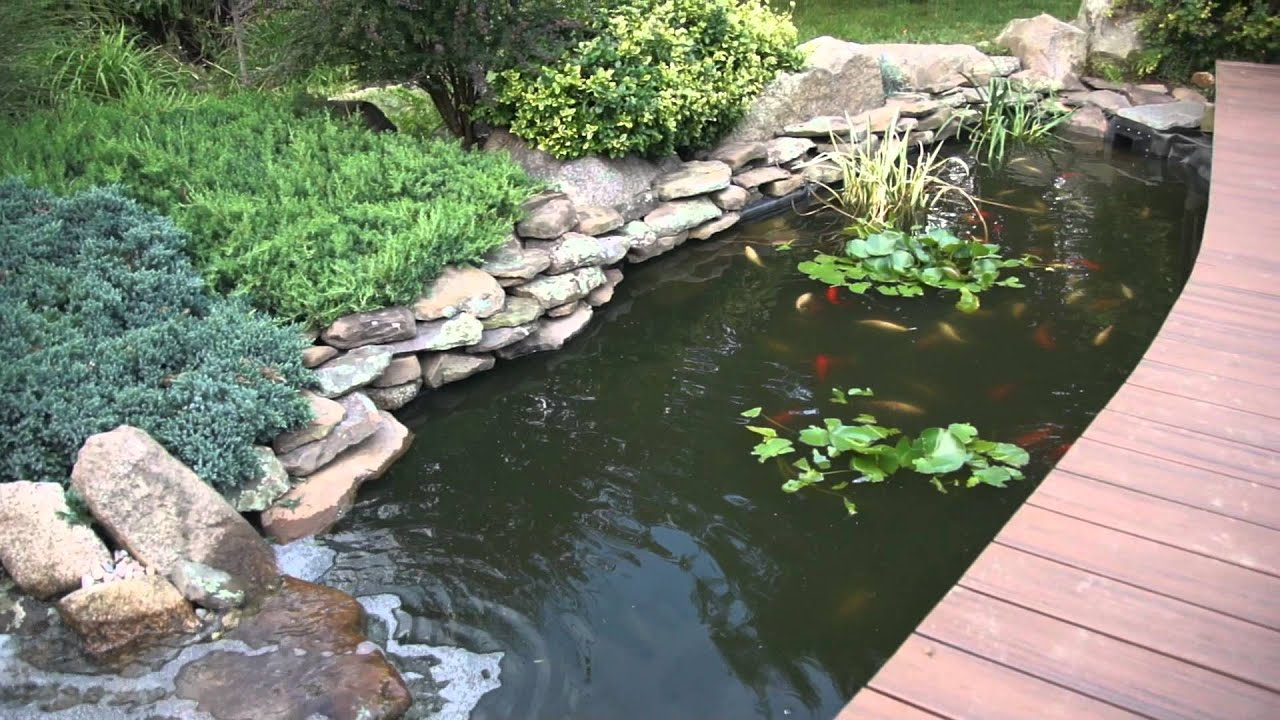The New Fish Pond Waterfall Youtube