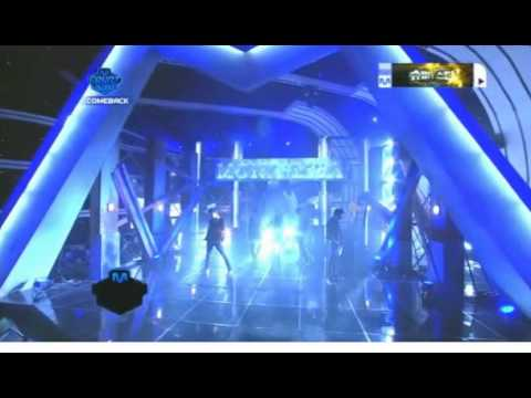 MBLAQ comeback stage Mnet countdown (Mona Lisa, You know it)