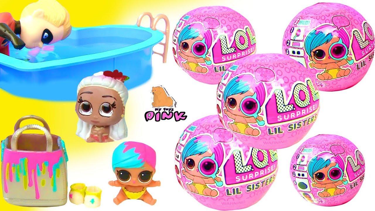 Купить LOL Кукла с чемоданом косметики LOL SURPRISE в СПб