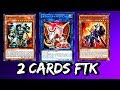 YGOPRO 2 CARDS FTK INFERNITY TESTING SECURITY DRAGON